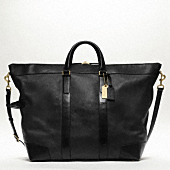 CROSBY LEATHER DUFFLE