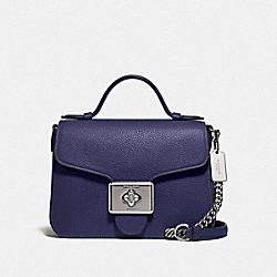 CASSIDY TOP HANDLE CROSSBODY - SV/CADET - COACH 77897