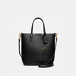 CENTRAL SHOPPER TOTE - GOLD/BLACK - COACH 78217