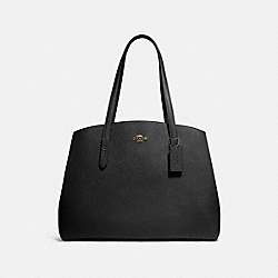 CHARLIE CARRYALL 40 - GD/BLACK - COACH 78220