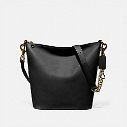SIGNATURE CHAIN DUFFLE - B4/BLACK - COACH 79029
