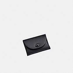 CARD CASE - V5/BLACK - COACH 79231G