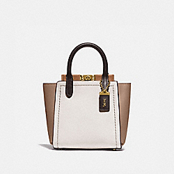 TROUPE TOTE 16 IN COLORBLOCK - B4/CHALK MULTI - COACH 79293