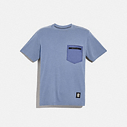 ESSENTIAL T-SHIRT - SLATE - COACH 79493