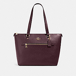 GALLERY TOTE - IM/RAISIN - COACH 79608