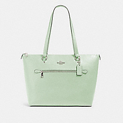 GALLERY TOTE - SV/PALE GREEN - COACH 79608