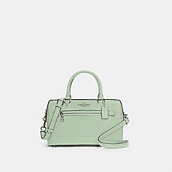 ROWAN SATCHEL - SV/PALE GREEN - COACH 79946