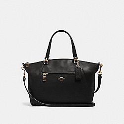 PRAIRIE SATCHEL - IM/BLACK - COACH 79997