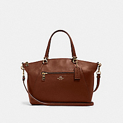 PRAIRIE SATCHEL - IM/REDWOOD - COACH 79997