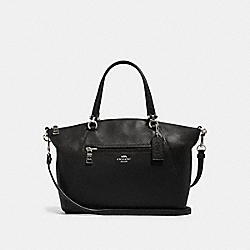PRAIRIE SATCHEL - SV/BLACK - COACH 79997