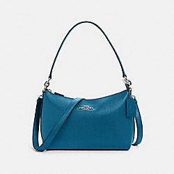 LEWIS SHOULDER BAG - SV/OCEANSIDE BLUE - COACH 80058