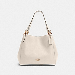 HALLIE SHOULDER BAG - IM/CHALK - COACH 80268