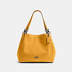 HALLIE SHOULDER BAG - QB/HONEY - COACH 80268