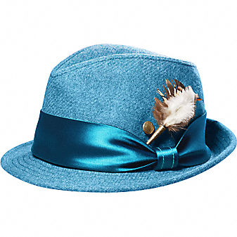 Coach Official Site - THE WOOL MONIKA FEDORA from coach.com