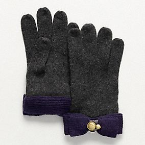 Knit Bow Glove