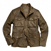 LIGHTWEIGHT HARRISON LEATHER FIELD JACKET