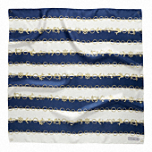 NAUTICAL JEWELRY STRIPE 27X27