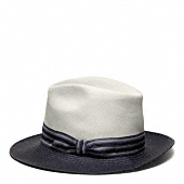SAINT JAMES COLORBLOCK PANAMA HAT