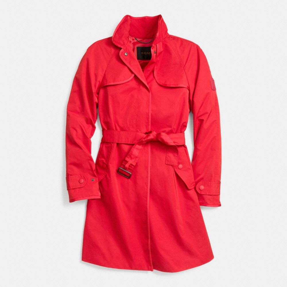 Sporty Topper Trench