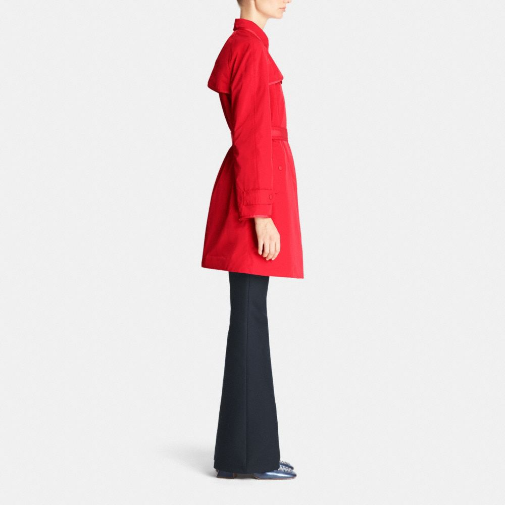 SPORTY TOPPER TRENCH - Alternate View M2