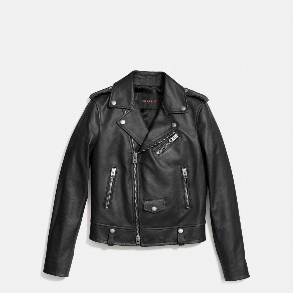 Coach Icon Moto Jacket
