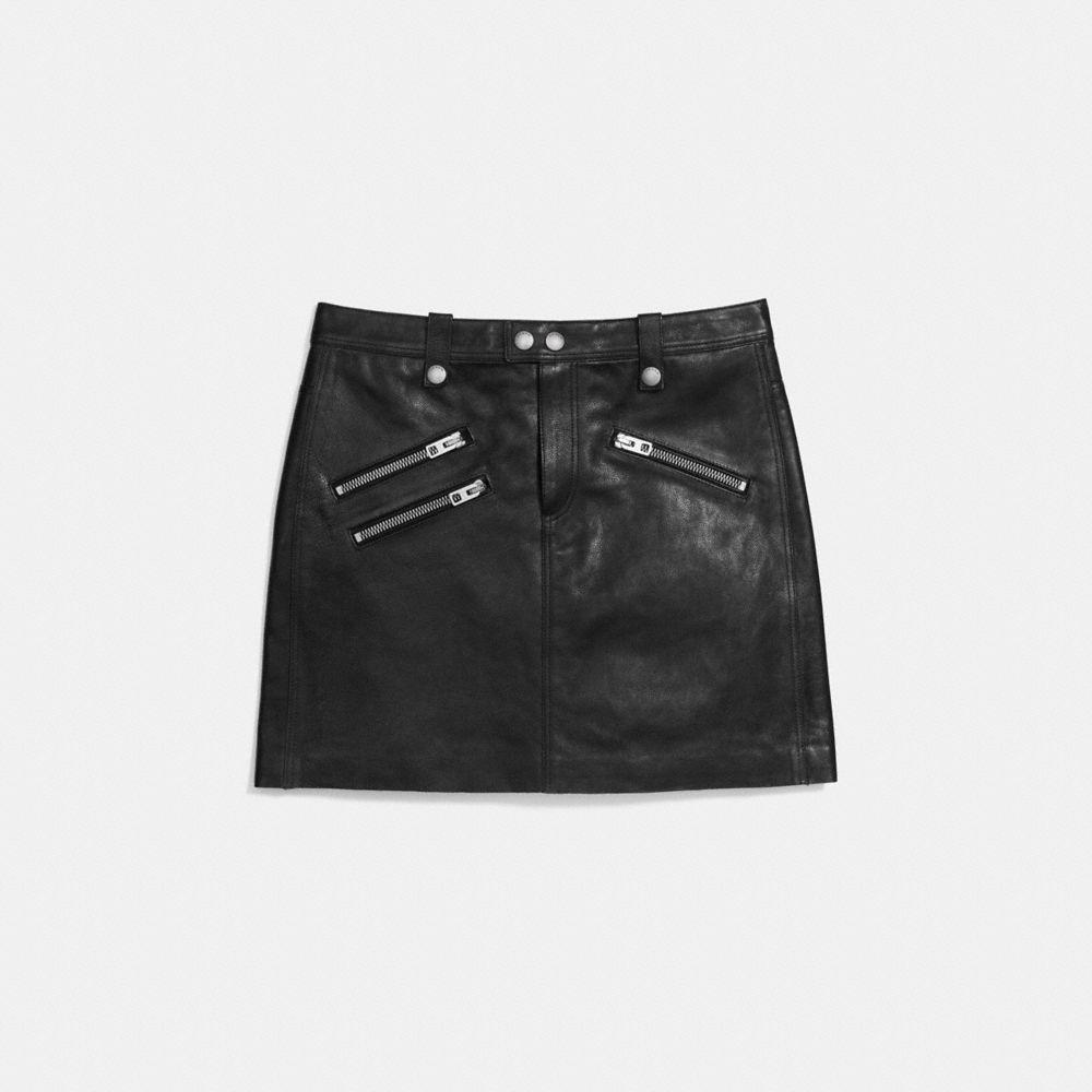 Multi Zip Skirt