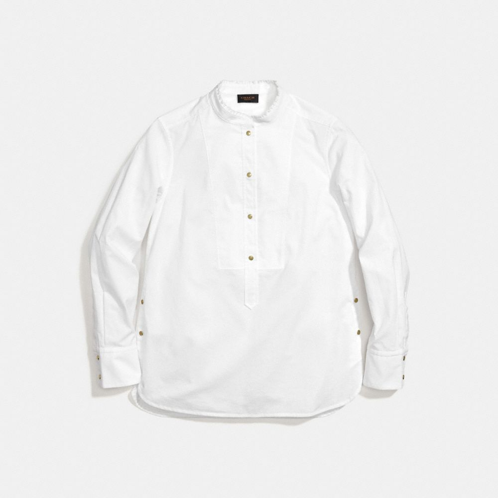Coach Snap Front Shirt