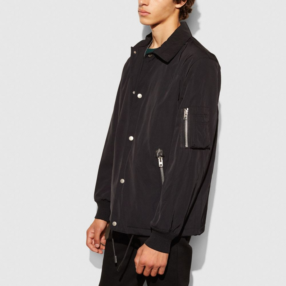 NYLON COACH JACKET - Alternate View