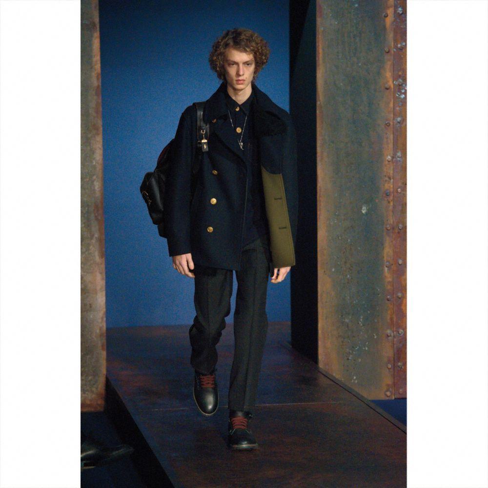 Wool Mariners Coat - Alternate View M