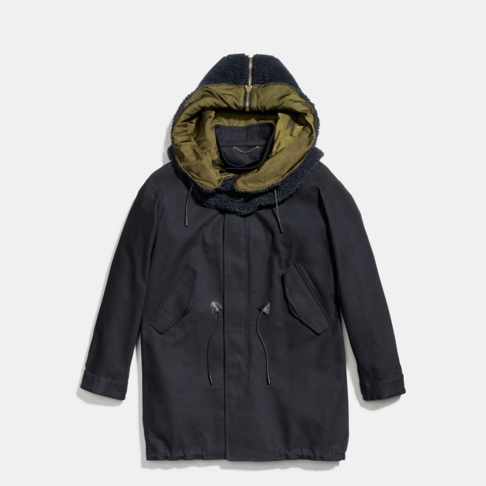 REMOVABLE HOOD PARKA - Alternate View