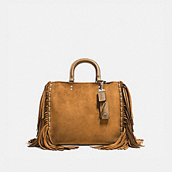 ROGUE WITH FRINGE - LH/OAK - COACH 86824