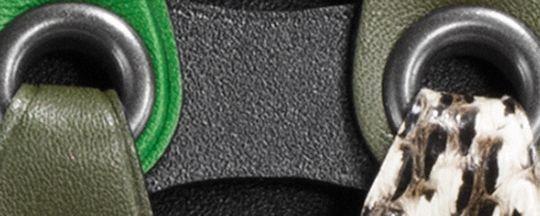 BLACK COPPER/BLACK KELLY GREEN