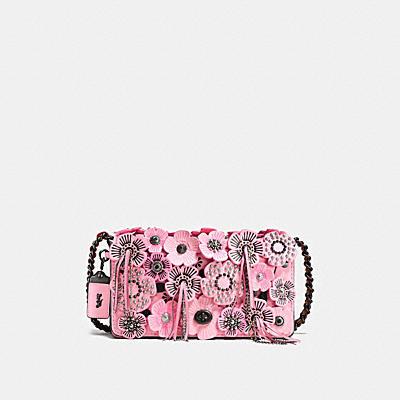 DINKY 茶香玫瑰斜揹手袋