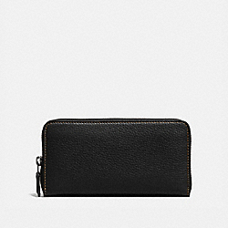 ACCORDION ZIP WALLET - BP/BLACK - COACH 86870