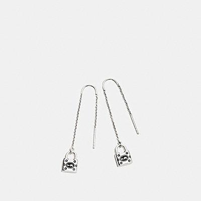鎖頭穿式耳環