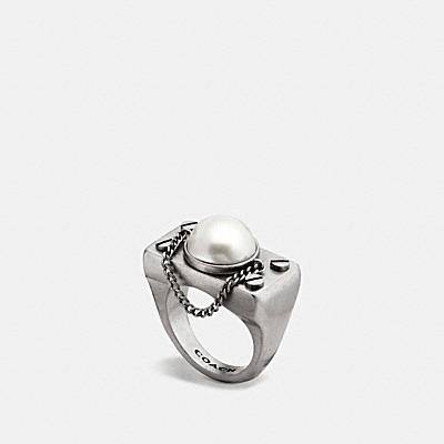 珍珠鍊戒指