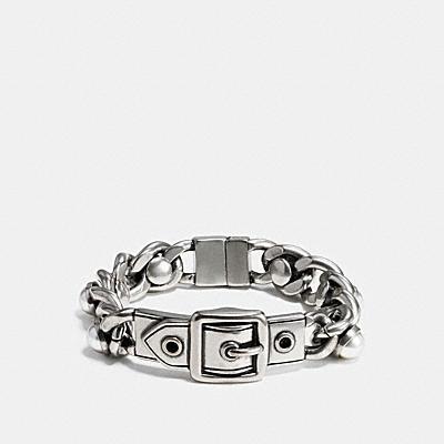 WIDE珍珠扣環掛牌手鍊
