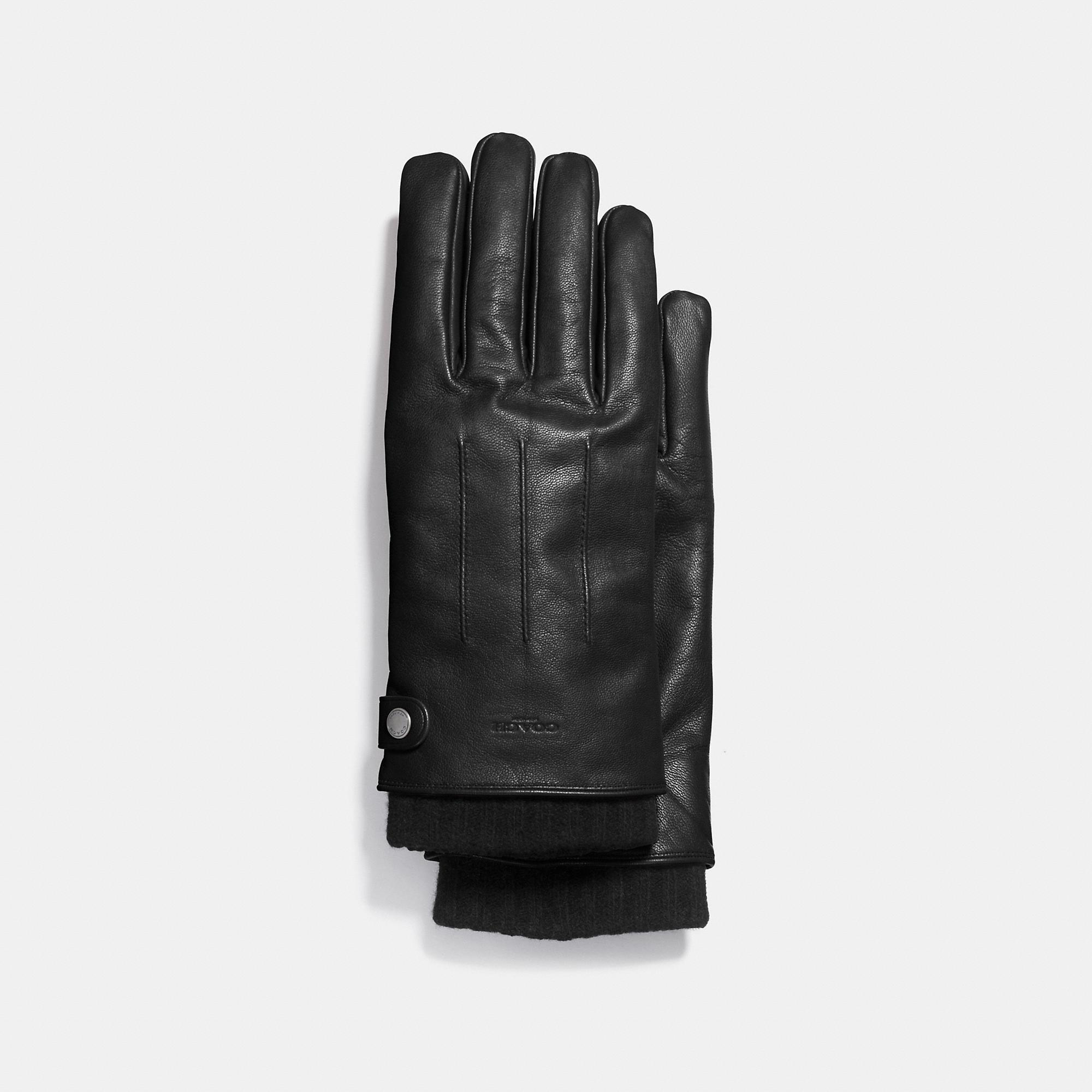 Coach 3-in-1 Glove In Leather