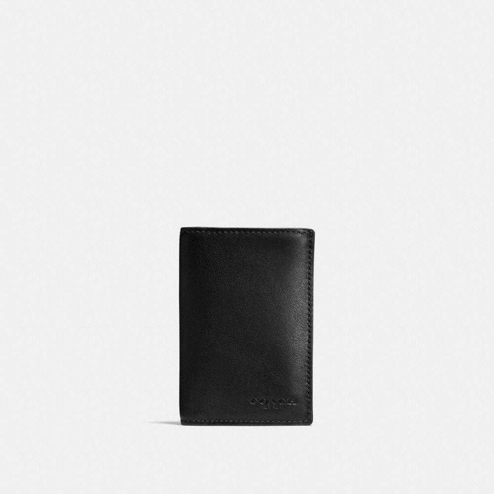 바이폴드 카드 케이스 인 스포츠 카프 레더