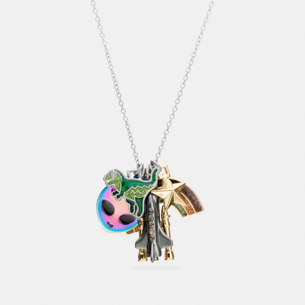 SPACE CHARMS NECKLACE