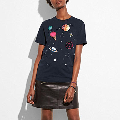PLANET刺繡T恤