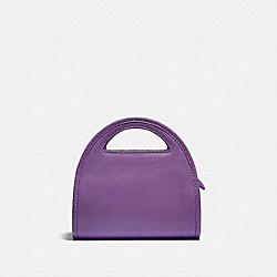 MINI HALF MOON BAG - B4/BRIGHT VIOLET - COACH 875