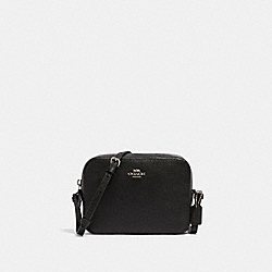 MINI CAMERA BAG - SV/BLACK - COACH 87734