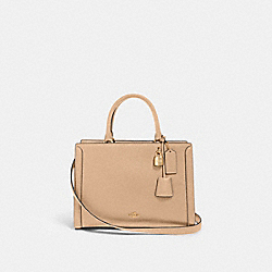ZOE CARRYALL - IM/TAUPE - COACH 88037
