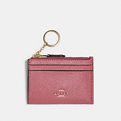 MINI SKINNY ID CASE - IM/ROSE - COACH 88250