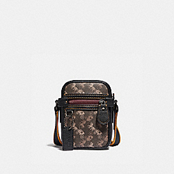 DYLAN 10 WITH HORSE AND CARRIAGE PRINT - JI/BLACK BROWN - COACH 88325