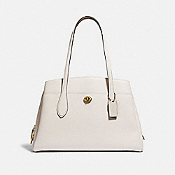 LORA CARRYALL - B4/CHALK - COACH 88340