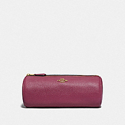 BRUSH POUCH - GOLD/DUSTY PINK - COACH 88526