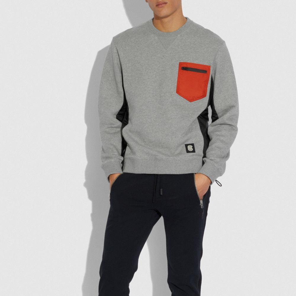나일론 스웨트셔츠