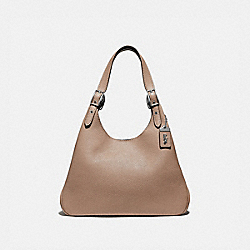 CASS SHOULDER BAG - LH/TAUPE - COACH 89004